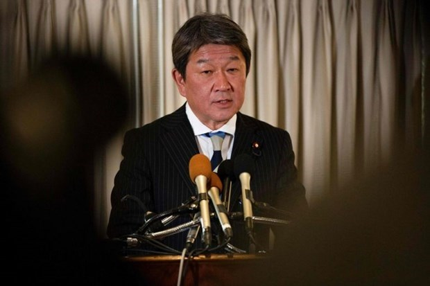 Japanese Foreign Minister to visit Vietnam hinh anh 1