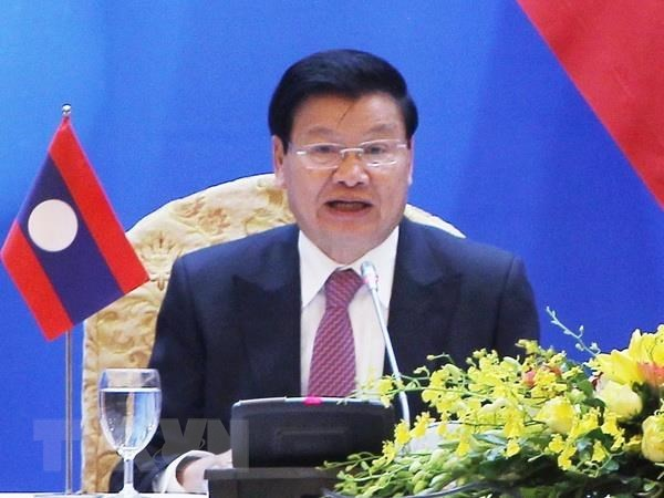 Lao PM to visit Vietnam soon hinh anh 1