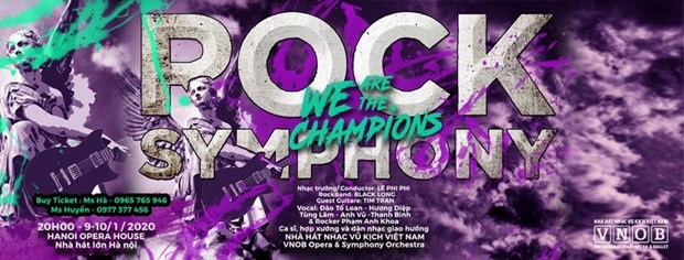 Special concert combines rock and symphony hinh anh 1