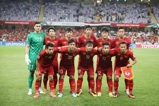 Vietnam men's team recognised in FIFA list hinh anh 1