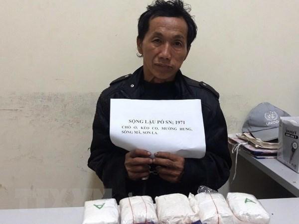 Son La: Man arrested for drug trafficking hinh anh 1