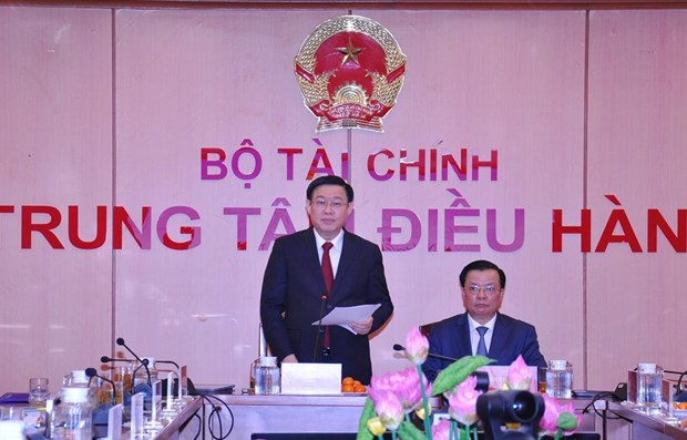 Deputy PM chairs teleconference on State budget 2019 hinh anh 1
