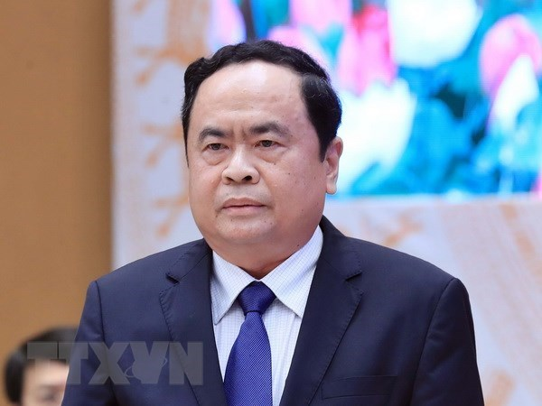 Front to enhance supervision over administrative reform: VFF leader hinh anh 1