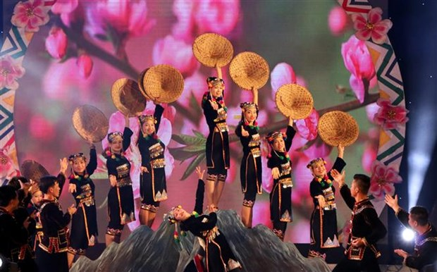 Sixth Vietnam–Laos–China 'con' festival wraps up hinh anh 1