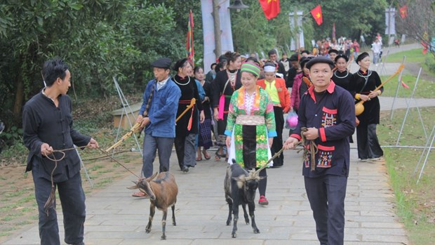 Ethnic groups celebrate New Year with various activities hinh anh 1