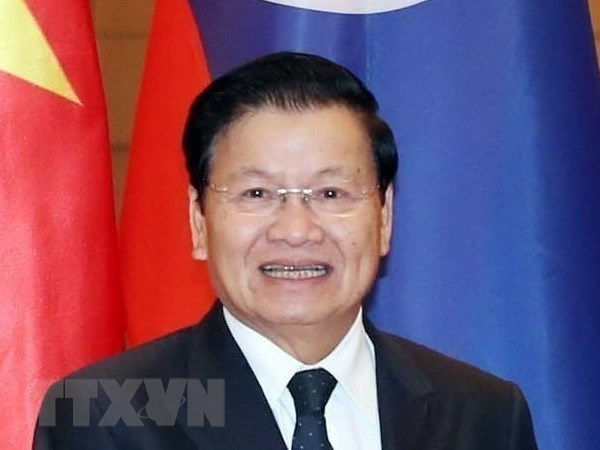 Lao PM visits, co-chairs inter-governmental committee meeting in Vietnam hinh anh 1