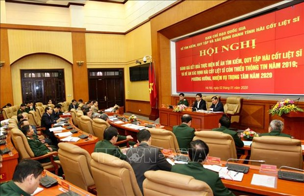 Search, repatriation of Vietnamese martyrs' remains in Laos, Cambodia intensified hinh anh 1
