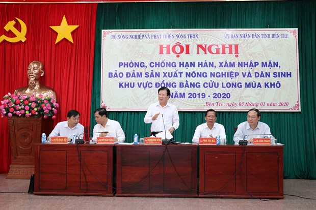 Mekong Delta needs long-term solutions to deal with saline intrusion hinh anh 1