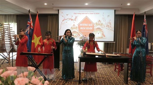 Vietnamese expatriates in Australia get together for Lunar New Year celebrations hinh anh 1