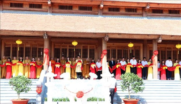 Truc Lam Zen Monastery inaugurated in Soc Trang province hinh anh 1