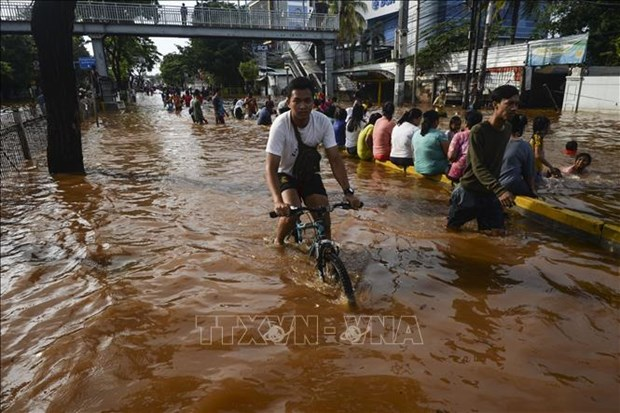 Death toll from Indonesia flood continues to rise hinh anh 1