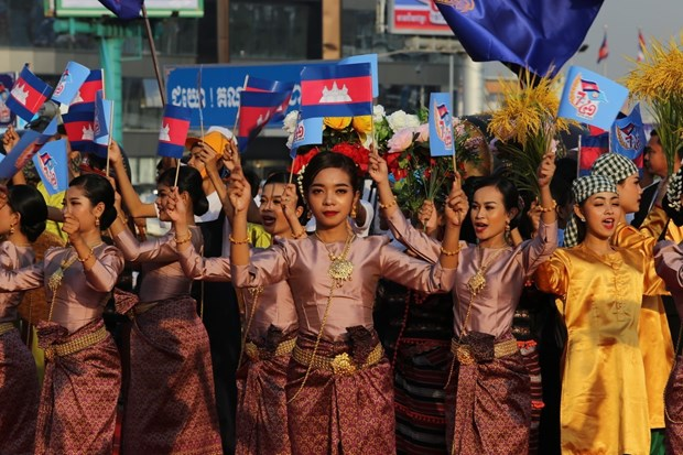 Cambodia marks 41st anniversary of victory over genocidal regime hinh anh 1