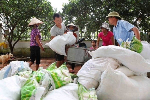 Khanh Hoa donates rice to needy people during Tet hinh anh 1