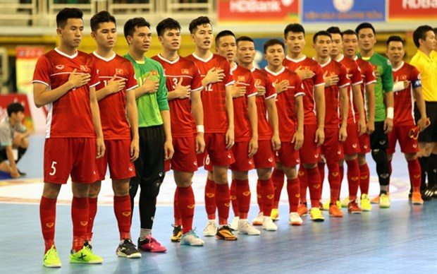 Vietnam ready for 2020 AFC Futsal Championship finals hinh anh 1