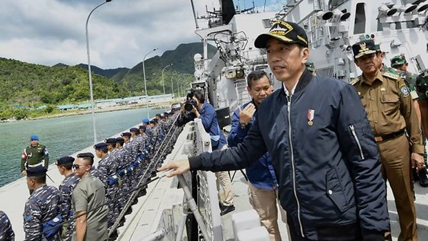 Indonesian President affirms sovereignty over Natuna islands hinh anh 1