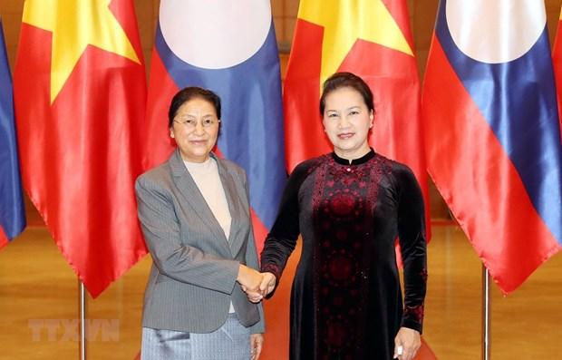 Parliamentary cooperation promotes Vietnam - Laos friendship: Top legislator hinh anh 1