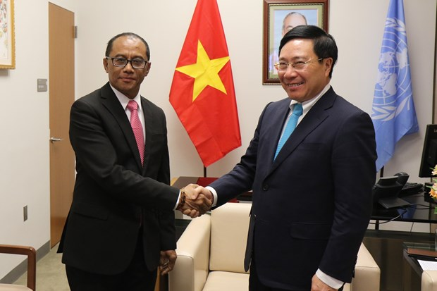 UN leaders, countries highly value Vietnam's international stature hinh anh 3