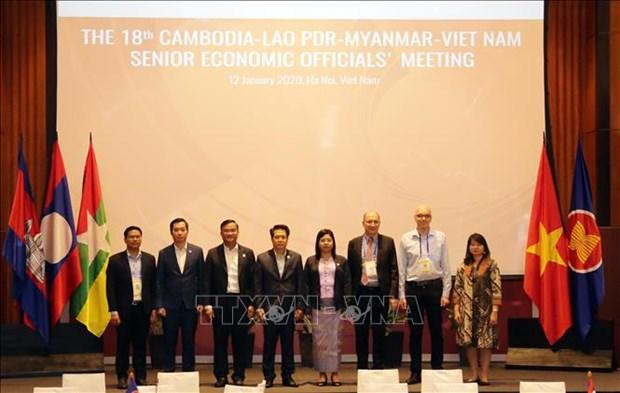 CLMV senior economic officials meet in Hanoi hinh anh 1