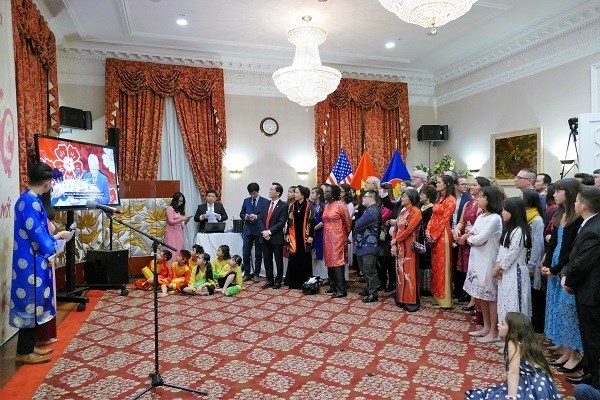 Overseas Vietnamese celebrate traditional New Year hinh anh 1