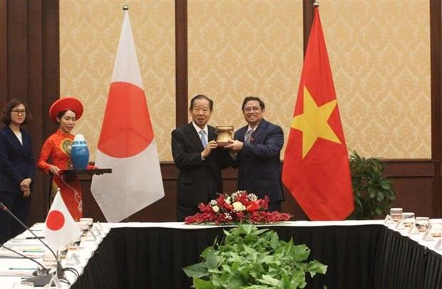 Vietnamese, Japanese officials agree to push parliamentarian ties hinh anh 1