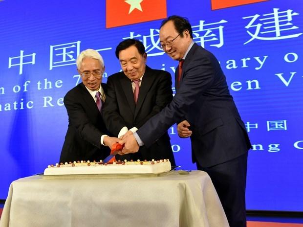 70th anniversary of Vietnam – China diplomatic ties marked hinh anh 1