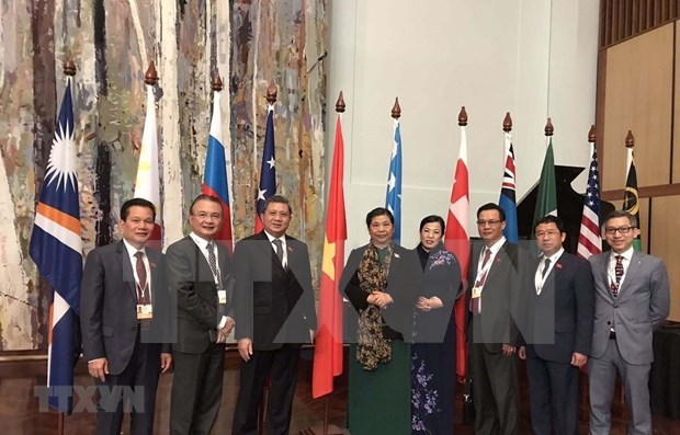 Vietnam attends APPF annual meeting in Australia hinh anh 1