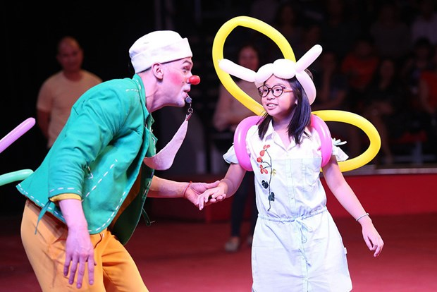 Second int'l circus gala to take place in HCM City hinh anh 1