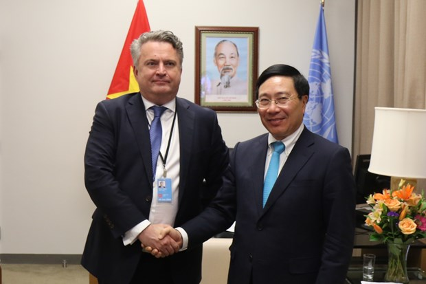 Ukraine highly values Vietnam's initiative on UNSC debate hinh anh 1