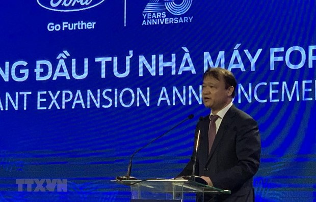 Ford Vietnam adds 82 million USD in factory expansion project hinh anh 1