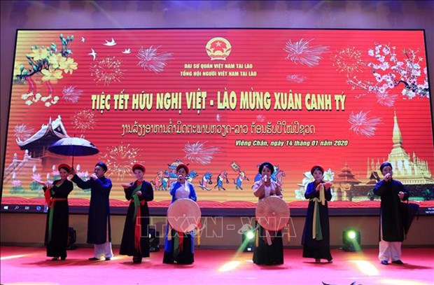 Gatherings mark Vietnam's New Year abroad hinh anh 1