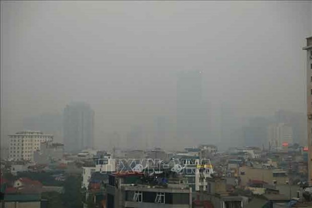 Experts discuss ways to ease air pollution in Hanoi hinh anh 1