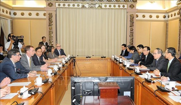 HCM City eyes stronger education cooperation with US hinh anh 1