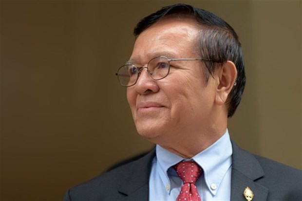 Trial begins for Cambodia opposition leader over treason charges hinh anh 1