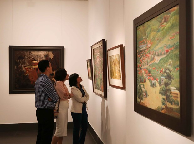 Exhibitions mark Party's 90th founding anniversary hinh anh 1