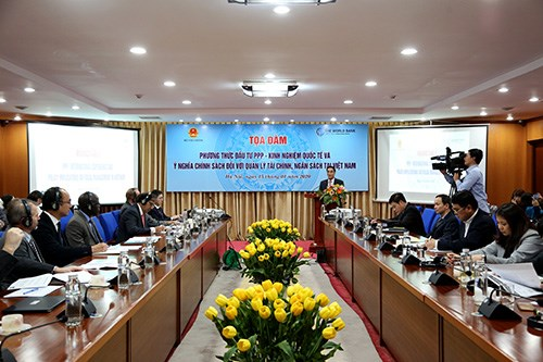 Seminar spotlights public-private partnership, related bill hinh anh 1