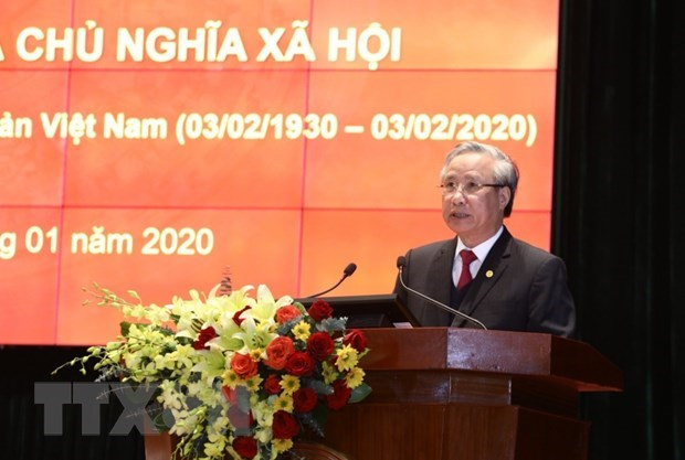 National teleconference on Communist Party of Vietnam hinh anh 1