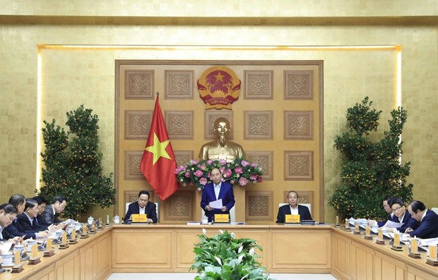 PM chairs 13th Party Congress's socio-economic subcommittee meeting hinh anh 1