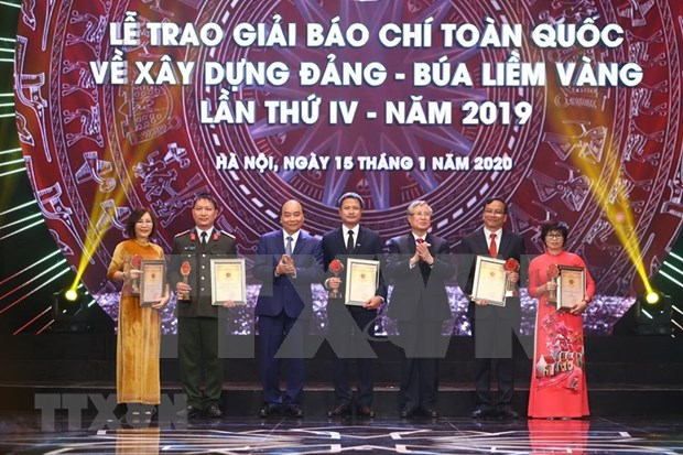 Party building press works honoured hinh anh 1