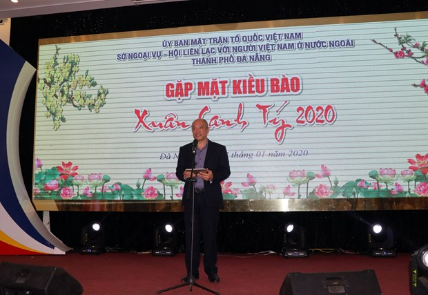 Da Nang welcomes overseas Vietnamese home for Tet hinh anh 1