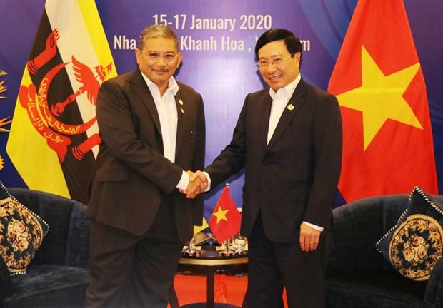 Vietnam, Brunei agree to push comprehensive partnership hinh anh 1