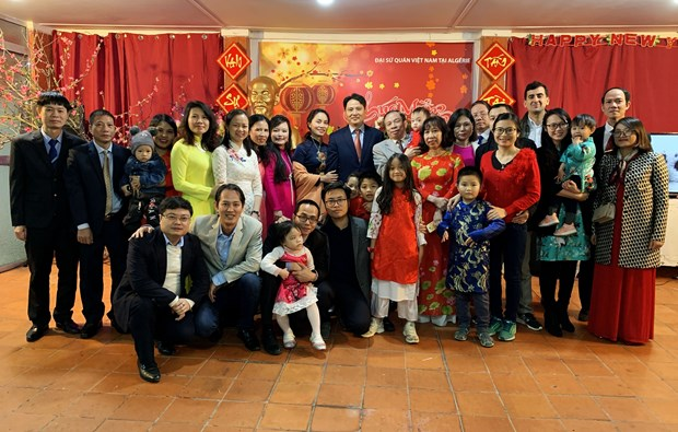 OVs join get-togethers ahead of Lunar New Year festival hinh anh 1