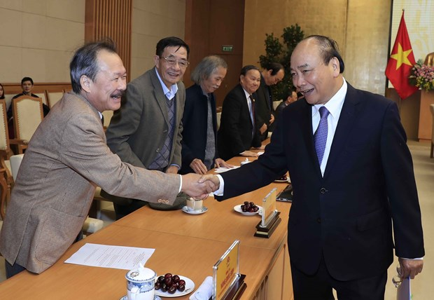 PM meets representatives of socio-political, mass organisations hinh anh 1