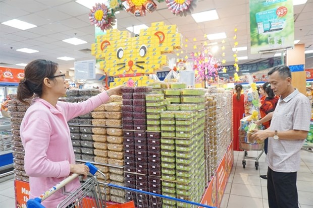 Tet shopping begins in earnest hinh anh 1