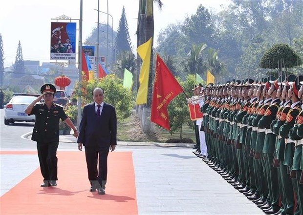 PM inspects combat readiness at Army Officer Training College 2 hinh anh 1