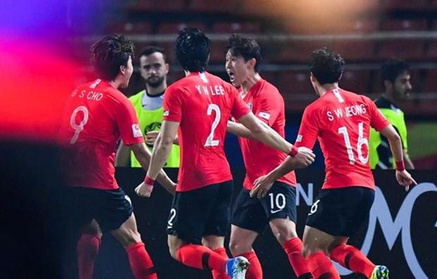 2020 AFC U23 Championship: RoK beats Jordan, seals semis spot hinh anh 1