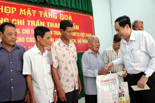 Vietnam Fatherland Front leader pays pre-Tet visit to Soc Trang hinh anh 1