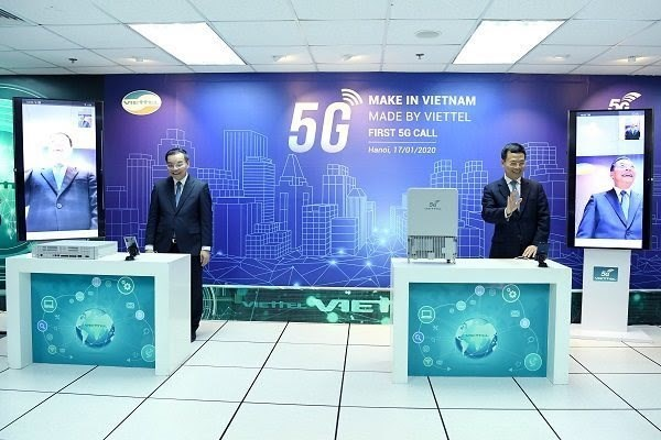 Viettel becomes world's 6th provider of 5G device hinh anh 1
