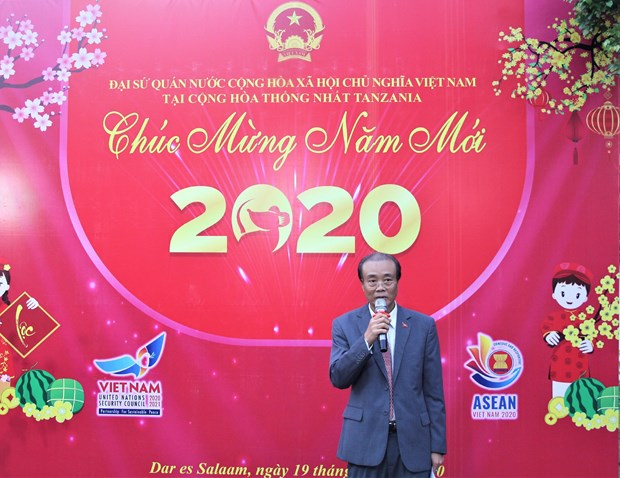 Overseas Vietnamese gather for Tet celebrations hinh anh 1