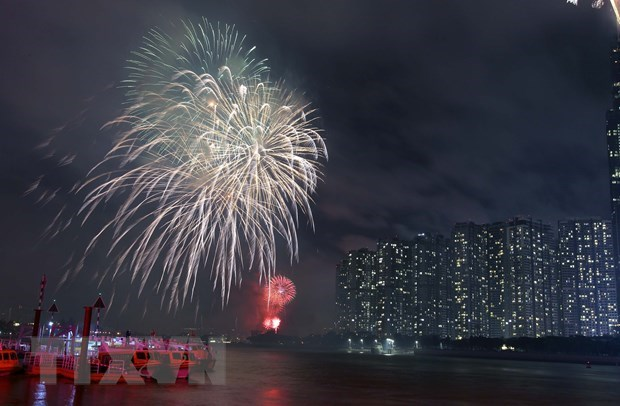 HCM City: Lunar New Year's Eve fireworks to be set off at 7 venues hinh anh 1