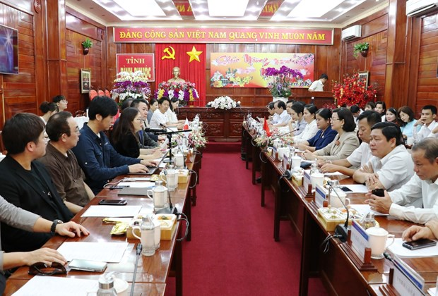 Japanese businesses seek investment opportunities in Binh Phuoc hinh anh 1